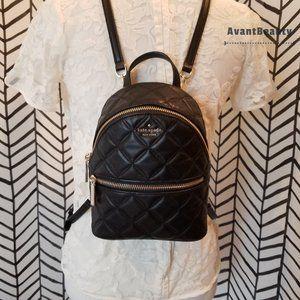 Kate Spade Natalia Mini Convertible Leather Black